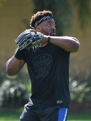Tigers outfielder prospect Christin Stewart has hit