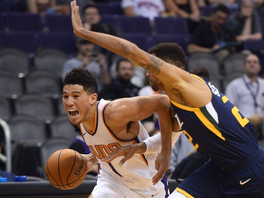 The Suns could sign young star Devin Booker to a contract extension when he's eligible next summer.