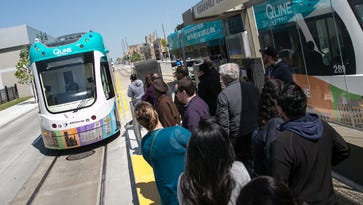 QLINE ridership drops somewhat after free period, carries about 3,000 per day