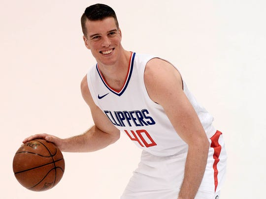 Los Angeles Clippers center Marshall Plumlee