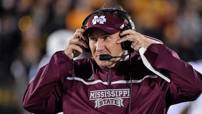 Mississippi State coach Dan Mullen looks to grab his first win against Alabama since taking over in 2009.