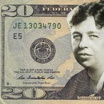 Eleanor Roosevelt is one of the final four candidates selected in balloting by a group seeking to have a woman replace Andrew Jackson on the $20 bill.