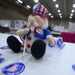 Election Day 2014 at Exhibition Hall in Montana ExpoPark.