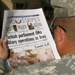 "The Defense Department is considering a proposal to eliminate ""Stars and Stripes'"" federal funding, roughly 40% of its overall budget. ""Stars and Stripes'"" name dates to the Civil War. It has published a newspaper continuously since World War II."