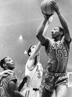 Larry Humes, University of Evansville (1964-66).