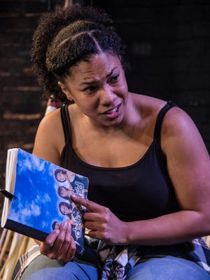 "Aziza Macklin plays Ida in the Know Theatre of Cincinnati's production of Christina Anderson's ""BlackTop Sky."""