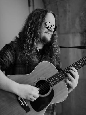 """Singer-songwriter and multi-instrumentalist Andrew Thelston will play a free show at the Black Mountain Ale House on Saturday, Oct. 14 from 7:30-10 p.m. His show is part of a week-long run of shows across WNC promoting his new debut album, released Oct. 8. Thelston is a well-known musician in the Asheville area, performing in bands such as American Gonzos, Afromotive and the Hope Griffin Trio.  His debut album, titled """"Andrew Thelston,"""" explores his well-known guitar playing, passionate singing and abilities as a multi-instrumentalist (every voice and instrument on the album is his). He and his wife Jessica moved to Black Mountain from Hendersonville."""
