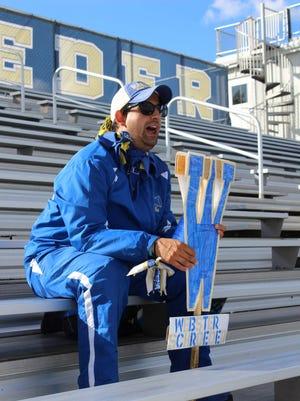 Super Fan Ben Willson has been attending Webster Schroeder and Thomas high school games regularly since 2007.