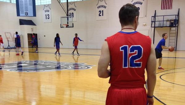 Louisiana Tech will wear red jerseys, shown in this pictured Friday, in Saturday's road game at Old Dominion.