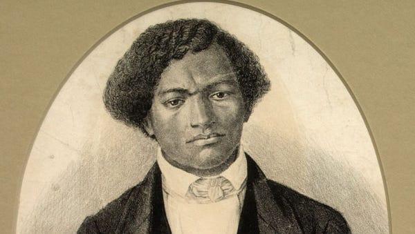 Frederick Douglass posed as a seaman to escape slavery.
