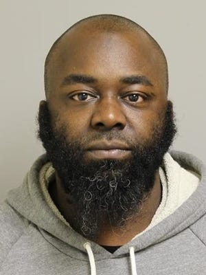 Jamaal Bailey of Camden faces drug and gun charges after a raid in the Bergen Square neighborhood Thursday.