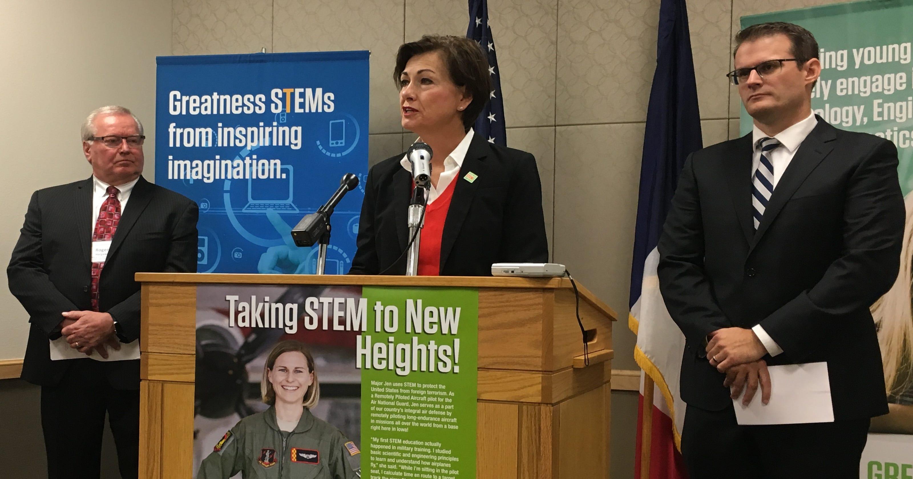 Iowa STEM jobs pay 15 percent less than national average