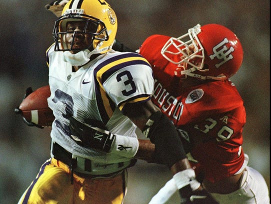 Kevin Faulk rushed for 4,557 yards and 46 touchdowns