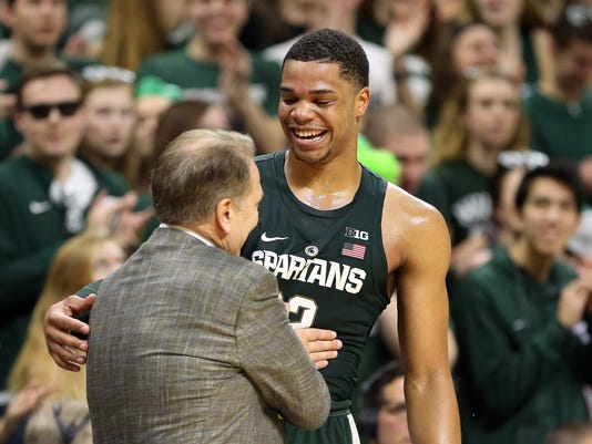 Miles Bridges Tom Izzo