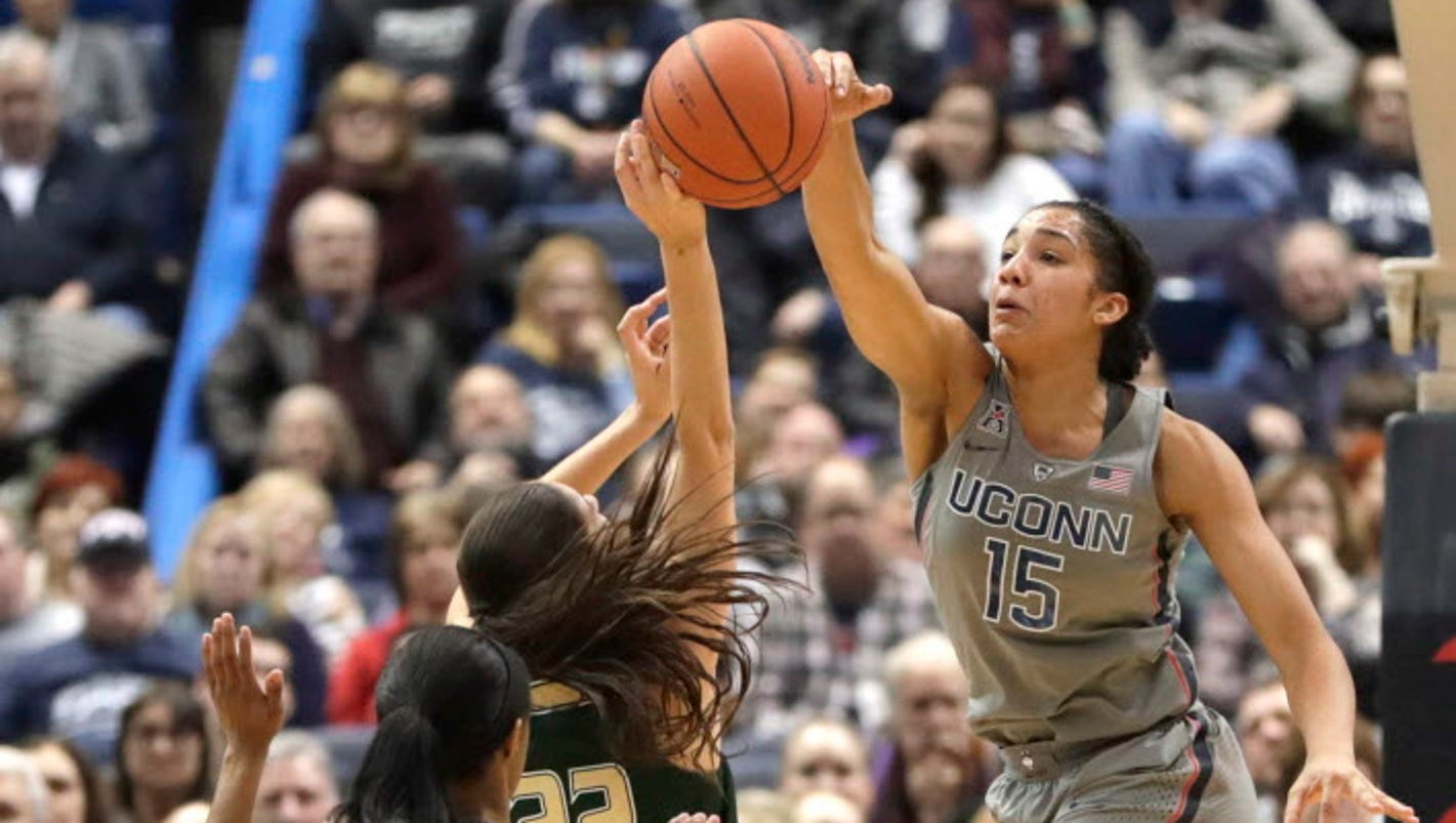 UConn women tie own NCAA record with 90th straight win