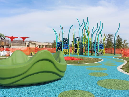 Johnston's Terra Park playground, 6300 Pioneer Parkway, has a rubber surface, making it wheelchair accessible.