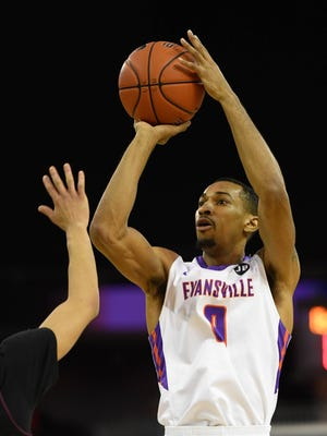 Evansville junior Ryan Taylor is not expected to return to the team as a graduate student.