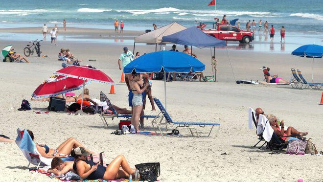 People haven't hesitated heading to Volusia County beaches as long as they've stayed open. Volusia County will keep the beaches open to the public with social distancing measures in place for the Independence Day weekend.