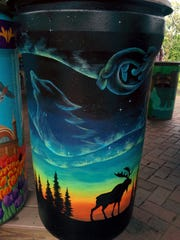 The Cincinnati Zoo and Botanical Garden celebrates Earth Day April 25 with its 10th annual Party for the Planet and seventh annual Rain Barrel Art Benefit Auction.