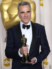 Daniel Day-Lewis won his third Academy Award for best