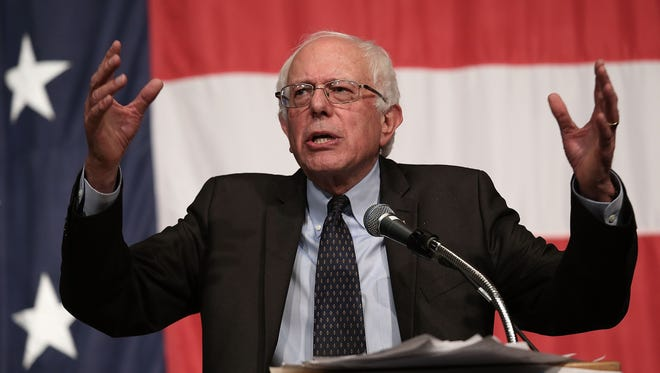 Sanders hasn't given the organization of a political economy sufficient thought to really qualify.