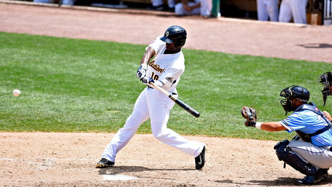 Jared Mitchell was 4 for 4, including two homers, for the York Revolution on Thursday, Aug. 3, in the Revs' 12-4 win at New Britain. Mitchell also had four RBIs and four runs scored.