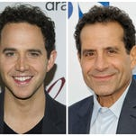 Actors Santino Fontana and Tony Shalhoub will share the role of Moss Hart on Broadway.