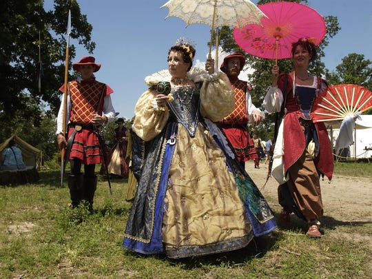 The White Hart Renaissance Faire runs three weekends in June in Hartville, featuring period entertainment, food, crafts and more.
