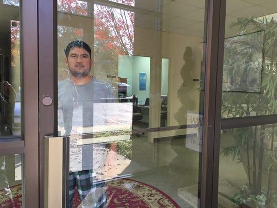 After receiving a deportation order, Eliseo Jimenez