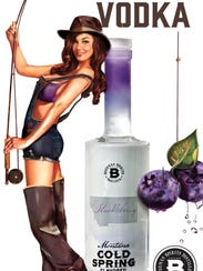 Huckleberry vodka