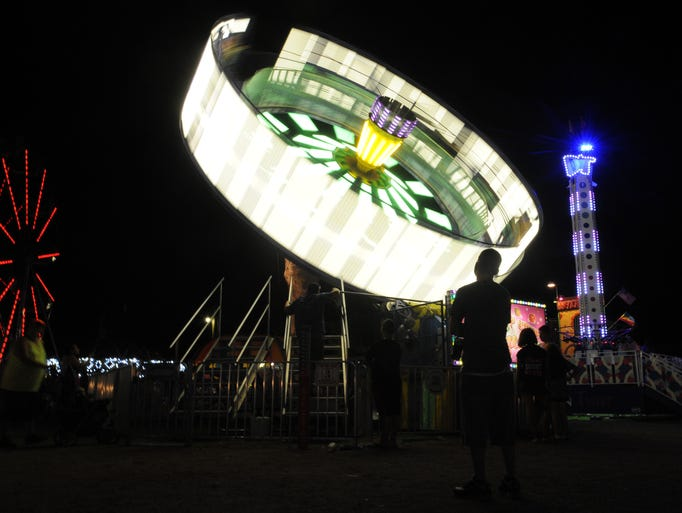 The Ross County Fair closed with food, games, rides,