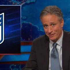 Jon Stewart's epic NFL takedown
