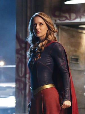 Melissa Benoist in CBS's 'Supergirl.'