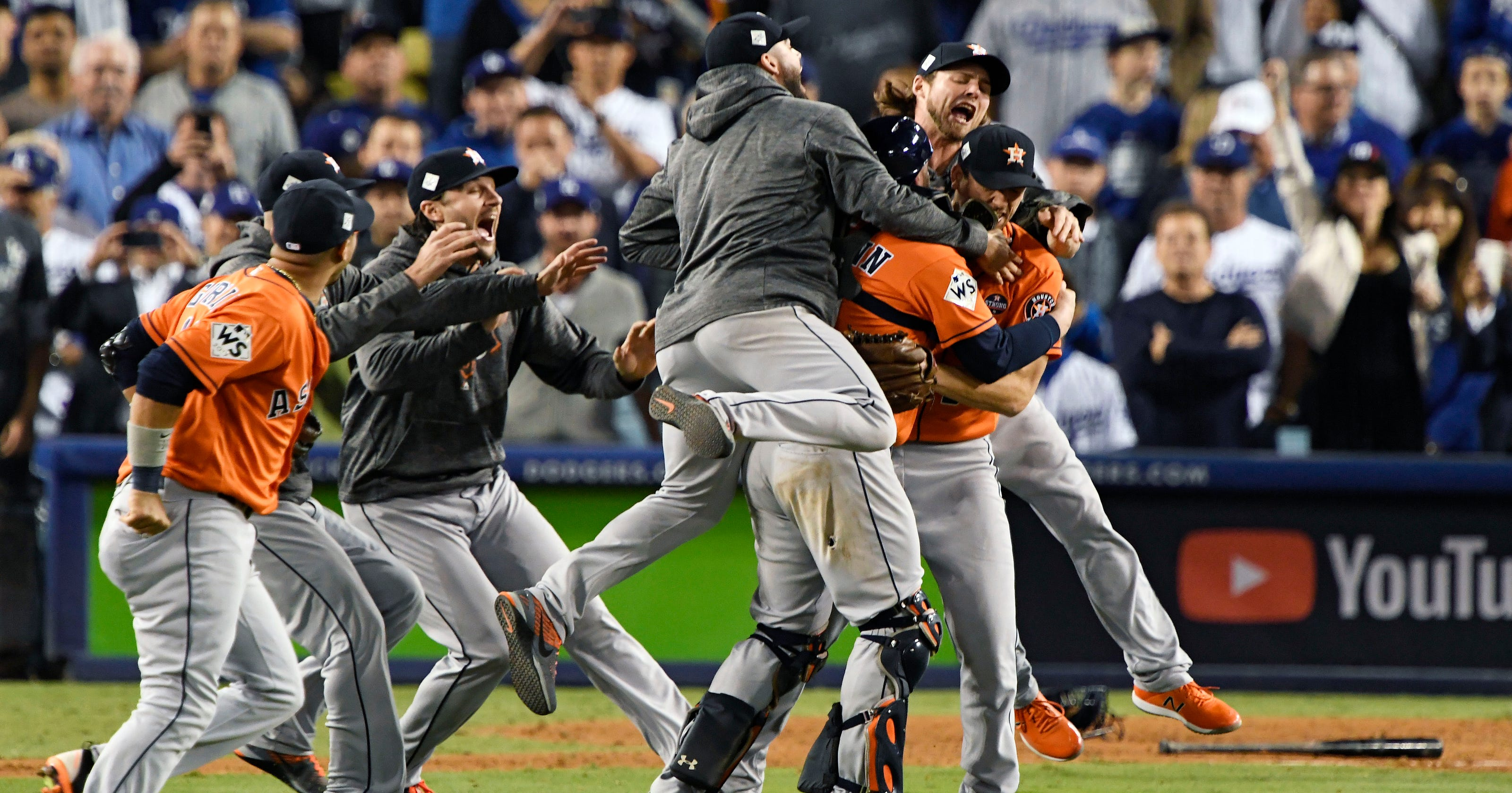 Astros win first World Series championship in franchise