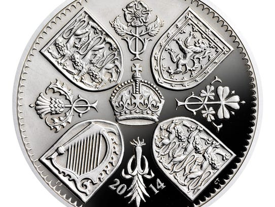 Royal coin for Prince George