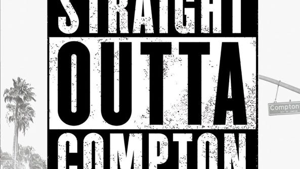 The N.W.A. biopic 'Straight Outta Compton' is an explosive