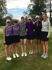Advancing to the Division I district golf tournament
