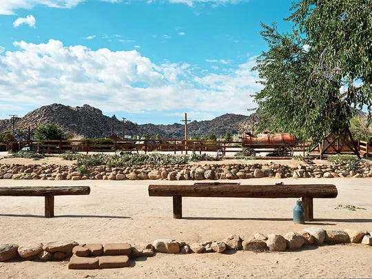 Pioneertown Motel boasts an epic view of the rocky