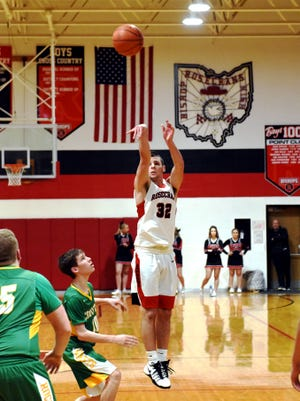 Senior Aaron Gehlken fired in a game-high 28 points with a trio of 3-pointers as Rosecrans rolled to a 78-40 win against Bowerston Conotton Valley on Friday night in a Division IV sectional final at Rogge Gymnasium.