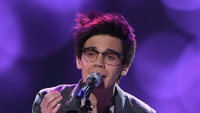 """MacKenzie Bourg of Lafayette is one of the last six contestants on """"American Idol."""""""