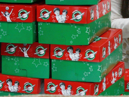 drop off centers open for christmas shoebox gifts - Christmas Shoebox