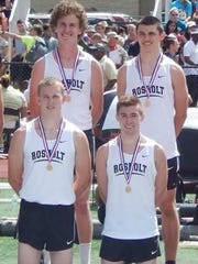 Rosholt has won the Division 3 boys 3,200 relay in