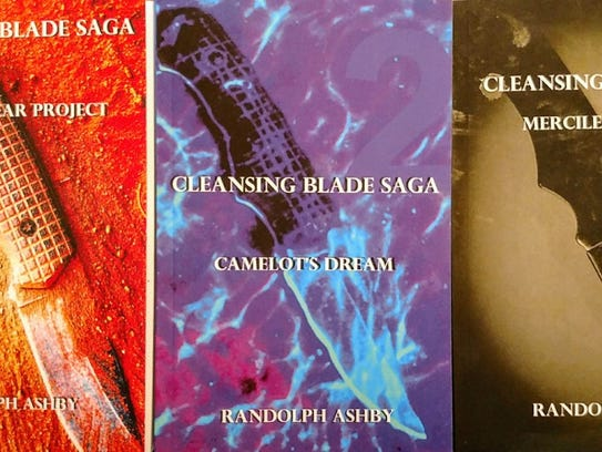 The Cleansing Blade Saga, from Randy Ashby.