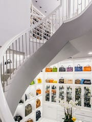 "The ""world's biggest closet"" has an accessory section that would put most department stores to shame."