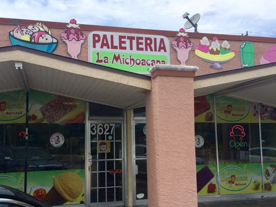 Paleteria La Michoacana in Fort Myers has served Mexican-style ice creams and ice pops for 12 years.