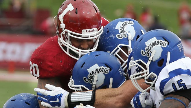 FILE -- When Indiana State's football team heads to Bloomington, it often comes with a nice payday.
