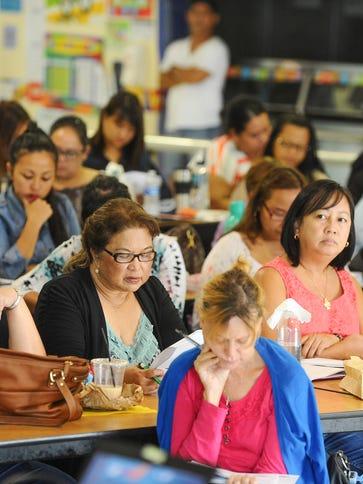 Public school teachers, kindergarten through second-grade,