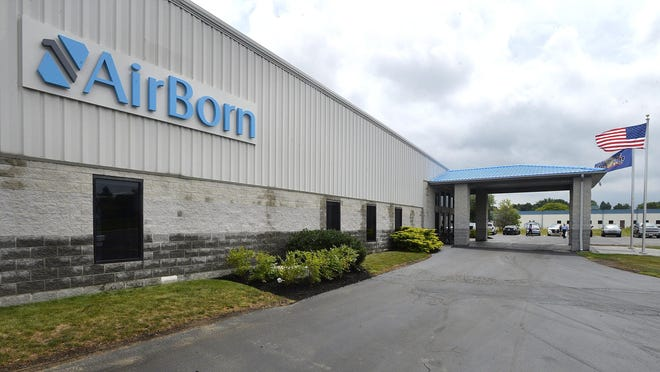 Lake City's Airborn plant is shown in August 2019. The company, which announced a $3.7 million expansion at that time, is now looking to add employees.