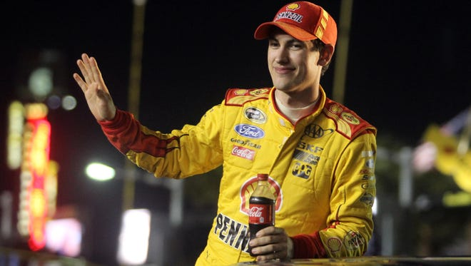 Joey Logano says if he couldn't race, he would like to spend some time in space.