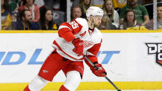 Detroit Red Wings defenseman Niklas Kronwall.